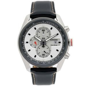 Citizen  Eco-Drive White Dial Chronograph CA0361-04A