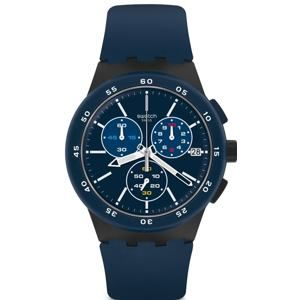 Swatch Chrono Plastic Blue Steward SUSB417